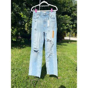 ❤️🔥 NWT Zara ZW THE '90S FULL LENGTH JEANS Size 8
